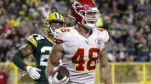 Chiefs TE Nick Keizer has best quote on catching passes from Patrick Mahomes