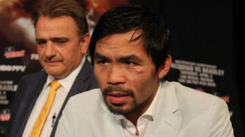 Decisão dividida! Manny Pacquiao vence luta apertada e unifica cinturões da WBA