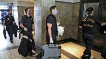 Rio governor's residence raided in virus graft probe