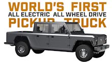 Times are changing for the all-American pickup truck - it's gone electric