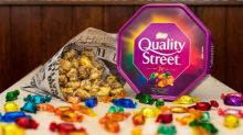 Fish and chip shop sells fried Quality Street chocolate