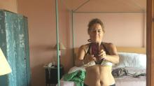 Former Vogue editor Alexandra Shulman, 59, posts honest bikini selfie