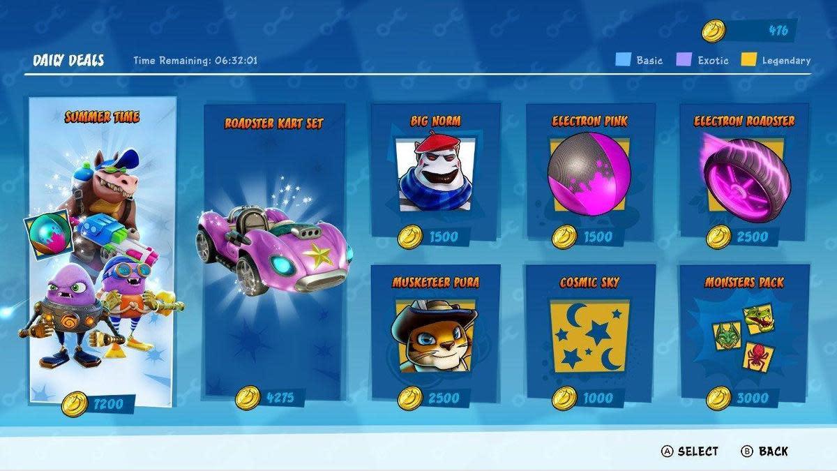 關卡中獲得的金幣可以用於購買商店中的套件。(圖片來源:遊戲實機截圖)