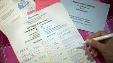 Stimmzettel per Taxi: Kurioses und Pannen zur Wahl