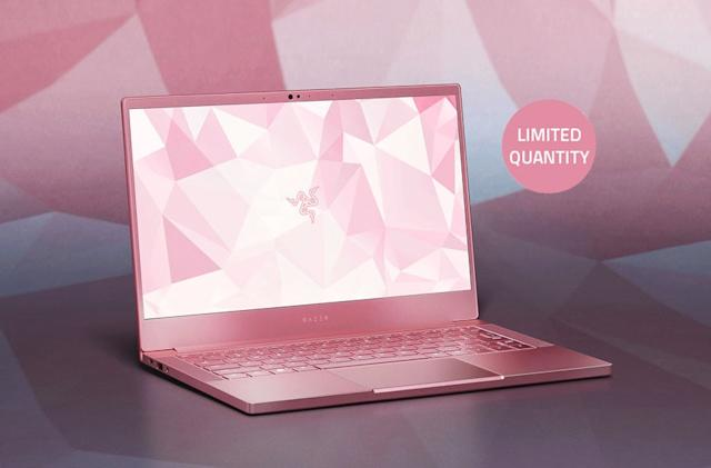 Razer is selling a pink gaming laptop in time for Valentine's Day