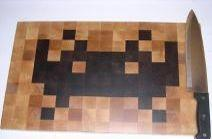Space Invaders get wooden