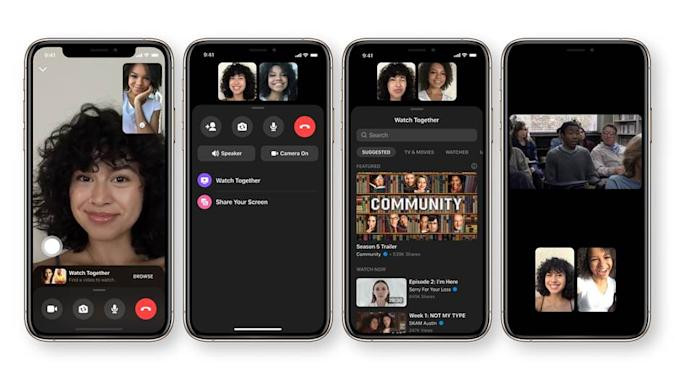 Facebook Messenger is introducing a new feature for co-watching video during group calls.