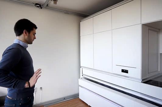 MIT's CityHome turns tight spaces into futuristic abodes