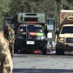 Taliban claim attacks at president's rally, Kabul