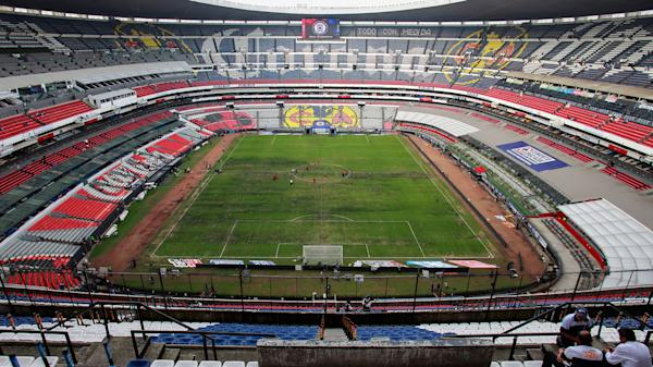 6193c580144a4 Poor field conditions at Estadio Azteca force NFL to relocate Rams-Chiefs  game to L.A.