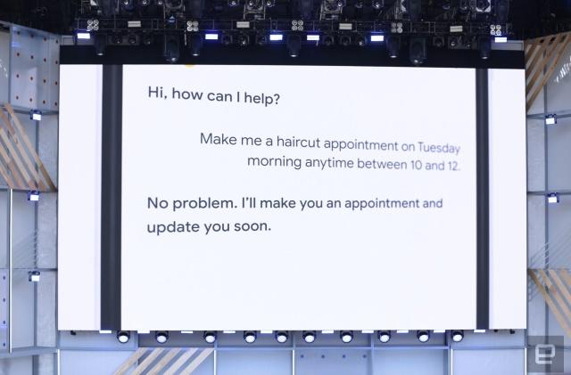 Google's Duplex AI can book your haircut appointments