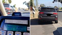 'This is a first for us': Woman's bizarre excuse for driving 57km/h over speed limit