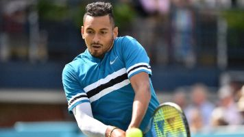 Kyrgios won't apologize over foul-mouthed rant
