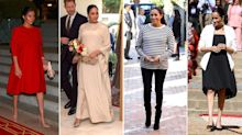 Meghan Markle's outfits from her Morocco royal tour 2019