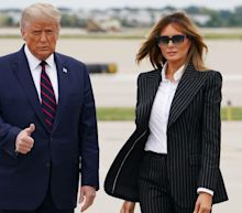 Melania Trump cancels Tuesday night trip to Pennsylvania 'out of an abundance of caution'