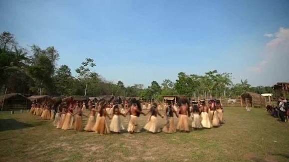 As fires ravage the Amazon, indigenous tribes pray for