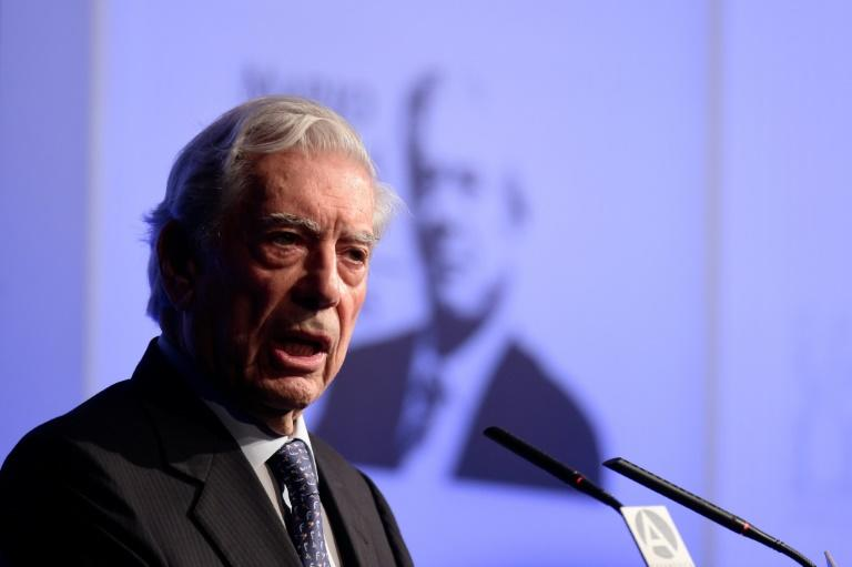 Peruvian writer and 2010 Nobel Literature Prize winner Mario Vargas Llosa, pictured in 2016, was the first recipient of the Romulo Gallegos in 1967