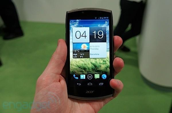 Acer CloudMobile hands-on at MWC 2012 (video)