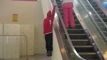 Olympic Skier Catches Sweet Hang Time In Viral Escalator Stunt