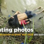 Photos of drowned Salvadoran migrant and child stir outrage