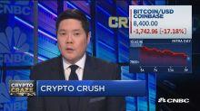 Bitcoin falls below key psychological $9,000 level