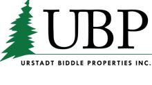 Urstadt Biddle Properties Inc. Reports Second Quarter Operating Results For Fiscal 2021