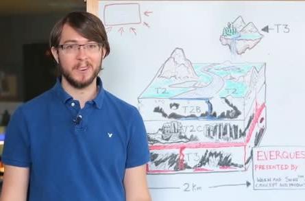 Landmark video goes spelunking in caves