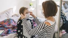 Coronavirus: How to help children get used to wearing a face mask or covering