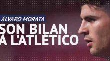 Foot - ESP - Le bilan d'Alvaro Morata à l'Atlético de Madrid