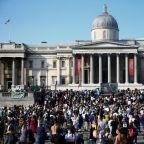 London police order anti-lockdown protest to disperse