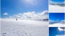 日本網民分享「鳥取砂丘」超靚景 砂丘變「雪丘」Twitter熱傳