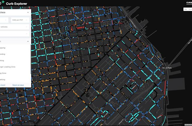 Google's Sidewalk Labs made a map of every good parking spot in SF