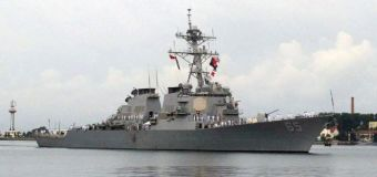U.S. Navy, Japanese ships collide in Pacific