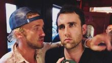 Tom Felton tries but fails to convert Matthew Lewis into a Slytherin in iconic Harry Potter reunion photo