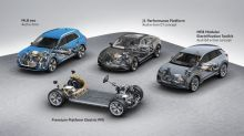 Audi details the PPE platform it's developing with Porsche to underpin EVs