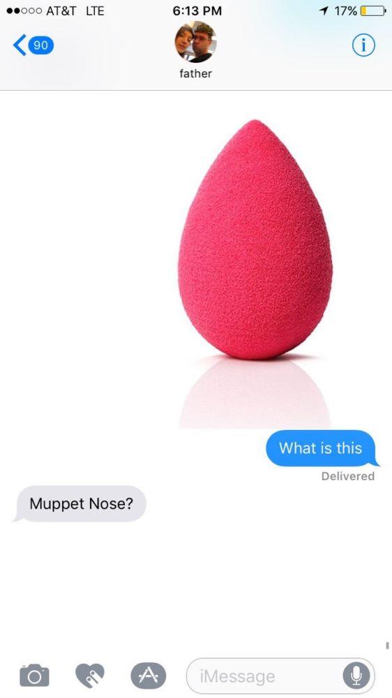 Maria Huff dad texts