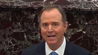 Schiff lobbies chief justice on executive privilege