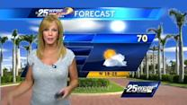 First Alert Forecast: Sunny day after chilly morning