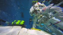 A dream come true for ISS-bound astronaut
