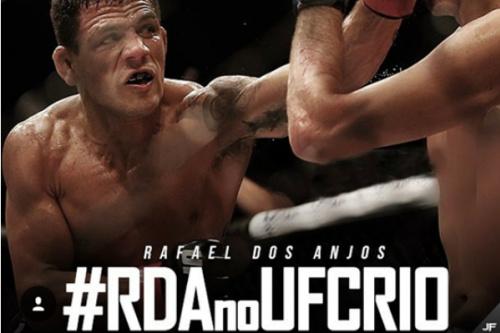 Rafael dos Anjos é ex-campeão do UFC - Reprodução/Instagram