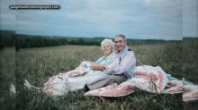 Couple gets photo shoot arranged by granddaughter who is 'obsessed' with their love story