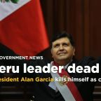Ex-Peru president kills himself as police try to arrest him