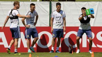 Noticias de la Selección argentina en el Mundial: se entrena y viaja a Nizhny