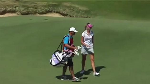 Golfer fires caddy mid-tournament