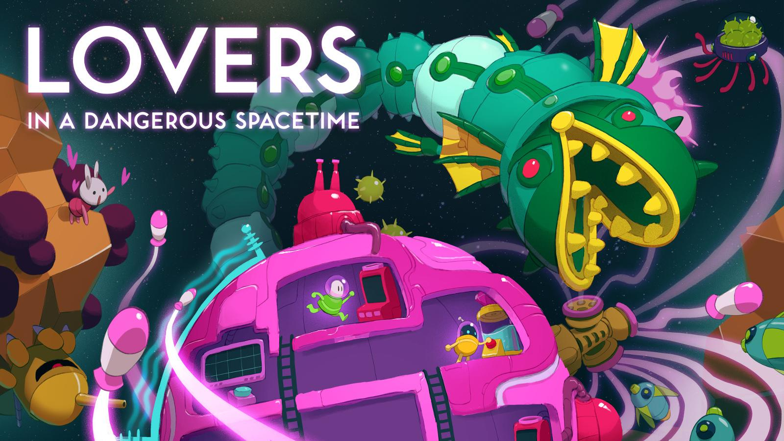 Lovers In A Dangerous Spacetime Lands On Nintendo Switch Engadget