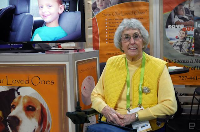 A first-time CES entrepreneur, age 82