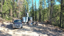 GGX Gold Expands Drill Program Too 5000 Meters Gold Drop Property Historic Greenwood Gold Mining Camp