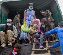 Large migrant caravan dissolves in Guatemala