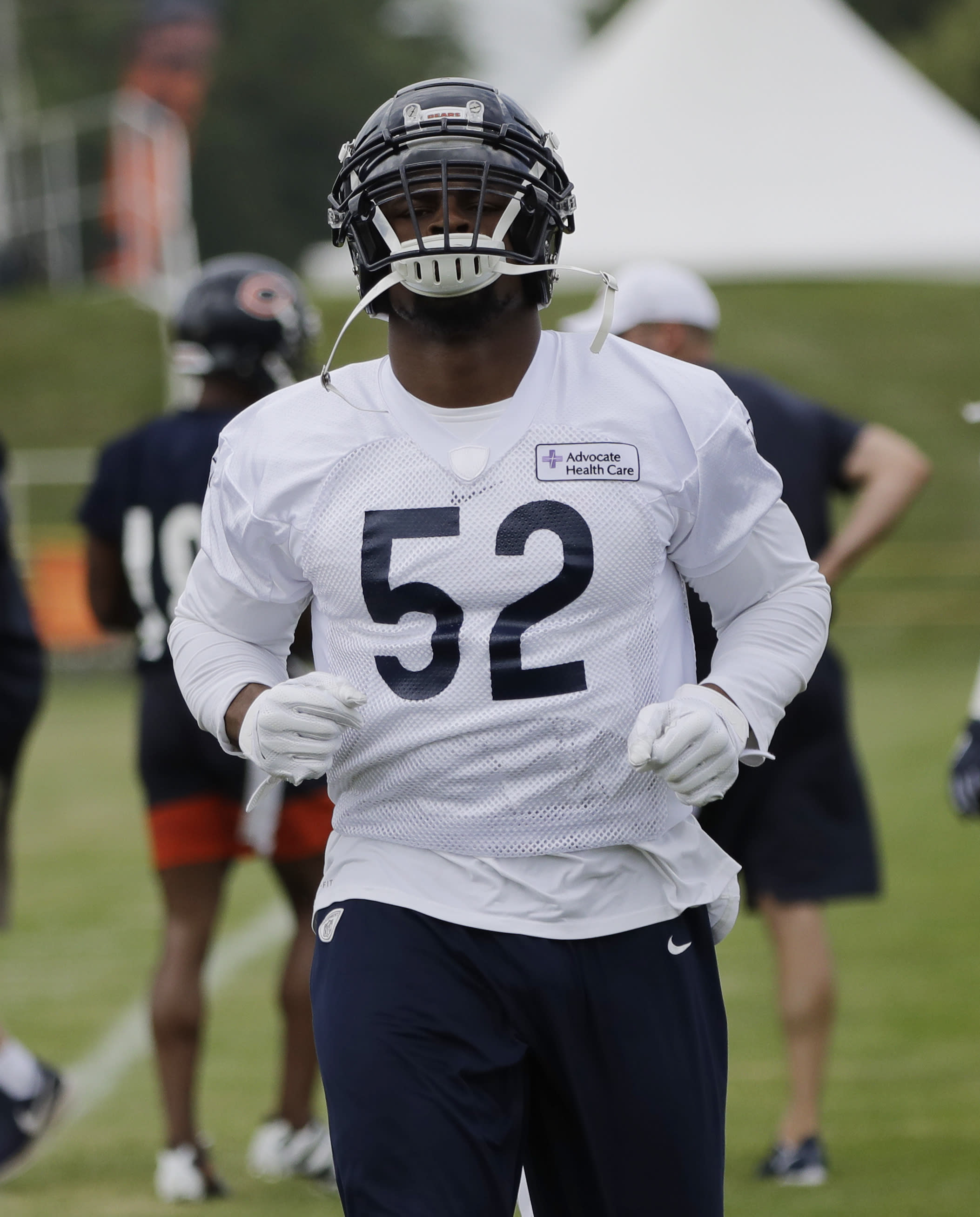 new arrivals 925a0 bf2cd Khalil Mack has more adjusting to do in Year 2 with Bears