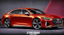 Audi RS6 Saloon rendering imagines the BMW M5 rival